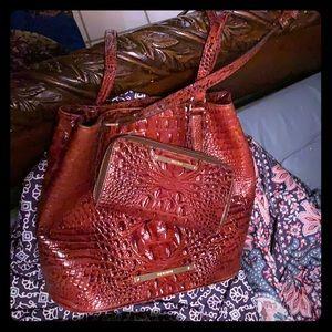 Brahmin bag with a beautiful finish